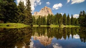 Lake Reflection 2048x1342 Wallpaper