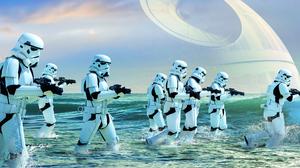 Stormtrooper Death Star 2064x1161 Wallpaper