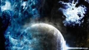 Planet Space Sci Fi Collision 1440x900 Wallpaper