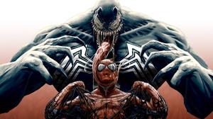 Marvel Comics Spider Man Venom 3840x2661 Wallpaper