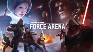 Boba Fett Chewbacca Darth Vader Han Solo Star Wars Force Arena 2208x1242 Wallpaper