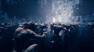 Ghostrunner Video Games Cyberpunk Science Fiction Screen Shot Weapon Katana Hologram Futuristic Cybo 3840x2160 Wallpaper