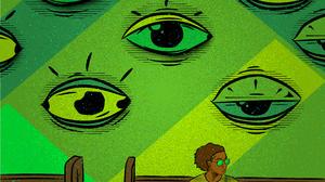 Digital Eyes Wall 3303x2481 Wallpaper
