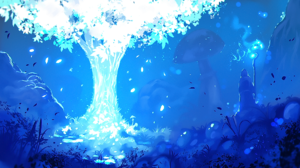 Fantasy Mage Magic Tree 1920x1076 Wallpaper
