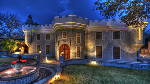 Fountain House Man Made Mansion 3000x2000 Wallpaper