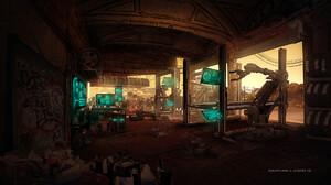 Sci Fi Room 1920x1080 Wallpaper