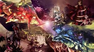 Anime Sengoku Basara 2000x1166 wallpaper