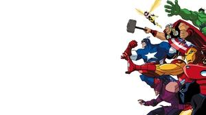 Ant Man Black Panther Marvel Comics Captain America Hawkeye Hulk Iron Man Thor Wasp Marvel Comics 1920x1080 Wallpaper