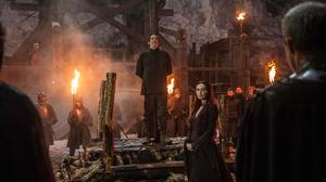 Carice Van Houten Ciaran Hinds Mance Rayder Melisandre Game Of Thrones 3000x1996 wallpaper