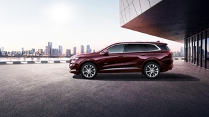 Buick Buick Enclave Car Luxury Car Red Car Suv 10000x6666 Wallpaper