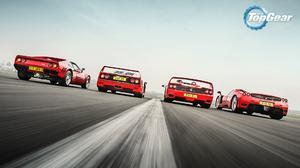 Ferrari F40 Ferrari F50 Ferrari 288 GTO Top Gear 1920x1080 Wallpaper