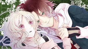 Diabolik Lovers Komori Yui Sakamaki Laito Anime Anime Girls Anime Boys Anime Games Series Manga Fan  1920x1080 Wallpaper