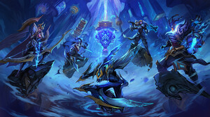 Ashe League Of Legends Kha 039 Zix League Of Legends Riven League Of Legends Thresh League Of Legend 1920x1080 wallpaper