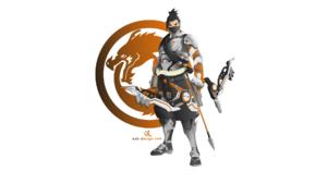 Genji Shimada Hanzo Overwatch 1920x1080 Wallpaper