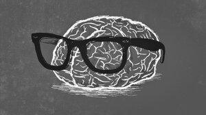 Brain Gray Nerd Weird 1920x1080 Wallpaper