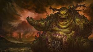 Creature Creepy Nurgle Warhammer Warhammer 40k 1920x1080 Wallpaper