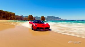 Car Beach Water Ferrari Laferrari 1920x1080 Wallpaper