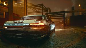 Cyberpunk 2077 Cyberpunk Car Police 2560x1440 Wallpaper