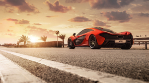 Car Mclaren Mclaren P1 Red Car Sport Car Supercar 4096x2731 wallpaper