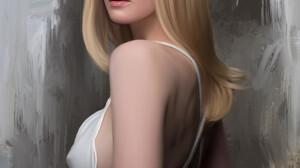 Stam Quito Digital Art Artwork Drawing Fan Art Digital Painting Portrait Portrait Display Elle Fanni 2549x3300 Wallpaper
