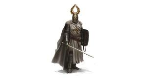 Knight Sword Warrior 4200x2200 Wallpaper