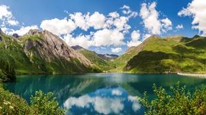 Mountain Alps Italy Cloud 5630x3000 Wallpaper