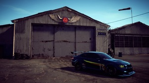 Vehicle Airport Video Games Car Sports Car BMW BMW M3 Need For Speed Need For Speed Payback Blue Car 1920x1080 Wallpaper