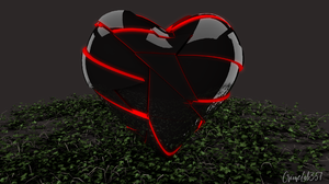 3D Fractal 3D Abstract Heart Watermarked 1920x1080 Wallpaper