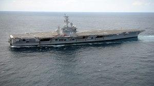 Military Aircraft Carrier Boat Ship Navy Vehicle Warship USS Dwight D Eisenhower CVN 69 1600x947 Wallpaper