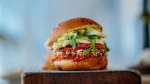 Food Burger 4108x2408 wallpaper