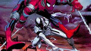 Anti Venom Spider Man 2560x1977 Wallpaper
