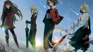 Fate Stay Night Fate Zero The Garden Of Sinners Mah Tsukai No Yoru Shingetsutan Tsukihime Aoko Aozak 1920x1080 wallpaper