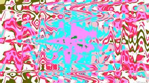 Artistic Digital Art Colors Wave Pink Red 1920x1080 Wallpaper