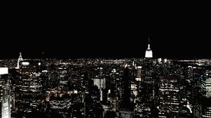 Building City New York Night Skyscraper Usa 4270x2846 Wallpaper