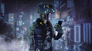 Ivanna Liittschwager Artwork Robot ArtStation Science Fiction Futuristic Digital Art 2048x1151 Wallpaper