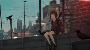 Anime Girl 3840x2160 Wallpaper
