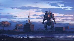 Robot 3840x2160 Wallpaper