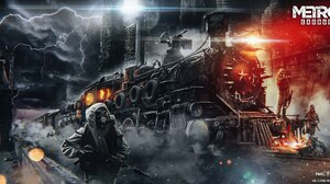 Video Game Metro Exodus 2560x1316 Wallpaper