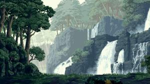 Earth Waterfall 1920x1200 Wallpaper