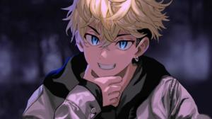 Tokyo Revengers Chifuyu Matsuno Anime Blonde Blue Eyes Anime Boys 1920x1080 Wallpaper