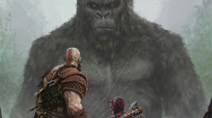 Artwork Fantasia Fantasy Art God Of War King Kong Digital Digital Art Movies Fighting Daredevil 1920x1080 Wallpaper