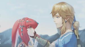 Mipha The Legend Of Zelda Link 2200x1100 wallpaper
