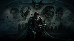 Christian Bale Batman Bane Dc Comics Two Face Heath Ledger Bat 1920x1080 Wallpaper