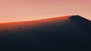Desert Abstract Dry Sunset Lights Orange Shadow Hills Sand 6240x4160 Wallpaper
