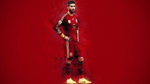 Sergio Ramos Soccer Spanish 3840x2400 Wallpaper