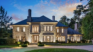 Sky House Mansion Architecture Lights Clouds Atlanta 1839x1122 Wallpaper