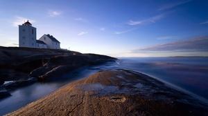 Fulehuk Lighthouse Norway 3840x2160 Wallpaper