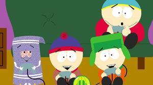 Eric Cartman Kyle Broflovski Stan Marsh Towelie 1280x1024 Wallpaper