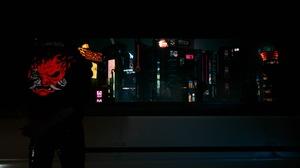 Cyberpunk Cyberpunk 2077 Cyberpunk Samurai V Cyberpunk V Neon City Lights Night 1920x1080 Wallpaper