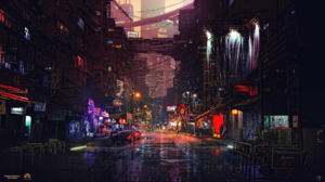 Cyberpunk Cyberpunk Cityscape 1920x1080 Wallpaper
